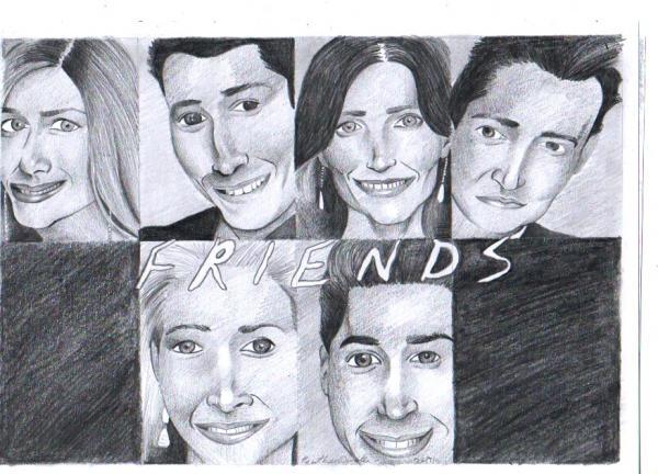 Friends por artisticheather